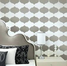Wall Painting Design Patterns Metallic Wallpaper