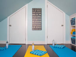 How To Make A Yoga Studio Sanctuary At Home   HGTV's Decorating ... Simple Meditation Room Decoration With Vinyl Floor Tiles Square Home Yoga Room Design Innovative Ideas Home Yoga Studio Design Ideas Best Pleasing 25 Studios On Pinterest Rooms Studio Reception Favorite Places Spaces 50 That Will Improve Your Life On How To Make A Sanctuary At Hgtvs Decorating 100 Micro Apartment