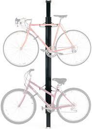 Ceiling Bike Rack Flat by Gear Up Floor To Ceiling Aluminum 2 Bike Rack Black Modern Bike