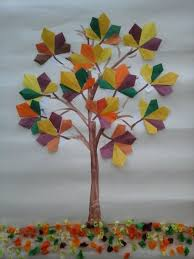 Paper Folding Art For Kids Origami Trees Thanksgiving Day