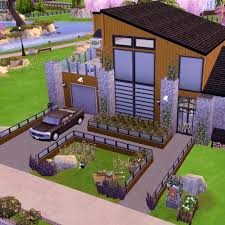 100 Cheap Modern House Design SIMS 4