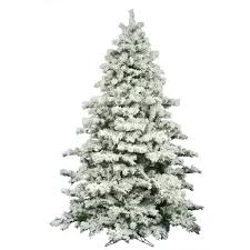 Snowy Dunhill Christmas Trees by Amazon Com Vickerman Flocked Alaskan Pine Tree With 2059 Tips 9