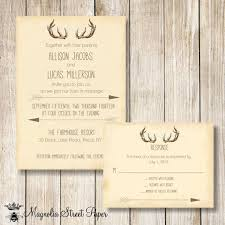 Full Size Of Templatesfloral Antler Wedding Invitation Plus Deer Decorations With