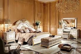 schlafzimmer komplett set kommode schminktisch bett garnitur barock rokoko e62w