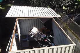 Rubbermaid 7x7 Shed Big Max by Plastic Shed With Easily Removable Roof Observatories Cloudy