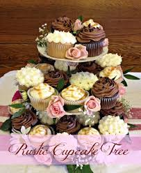 Rustic Cupcakes And Naked Cake