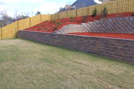 Retaining Wall | Landscaping, Lawn Care And Retaining Walls ... Brick Garden Wall Designs Short Retaing Ideas Landscape For Download Backyard Design Do You Need A Building Timber Howtos Diy Question About Relandscaping My Backyard Building Retaing Fire Pit On Hillside With Walls Above And Below 25 Trending Rock Wall Ideas Pinterest Natural Cheap Landscaping A Modular Block Rhapes Sloping Also Back Palm Trees Grow Easily In Out Sunny Tiered Projects Yard Landscaping Sloped