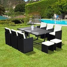 Outsunny Patio Furniture Cushions outsunny patio furniture outsunny 4pc patio furniture rattan sofa