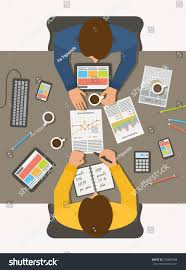 100 Em2 Design Workplace Office Desk Business Men Meeting