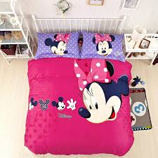 Minnie Mouse Twin Bedding by Sweetlooking Minnie Mouse Bedroom Set Full Size Mickey And Bedding