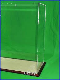 25 X 10 30 Inch Table Top Clear Acrylic Display Case For Tall Model Ships