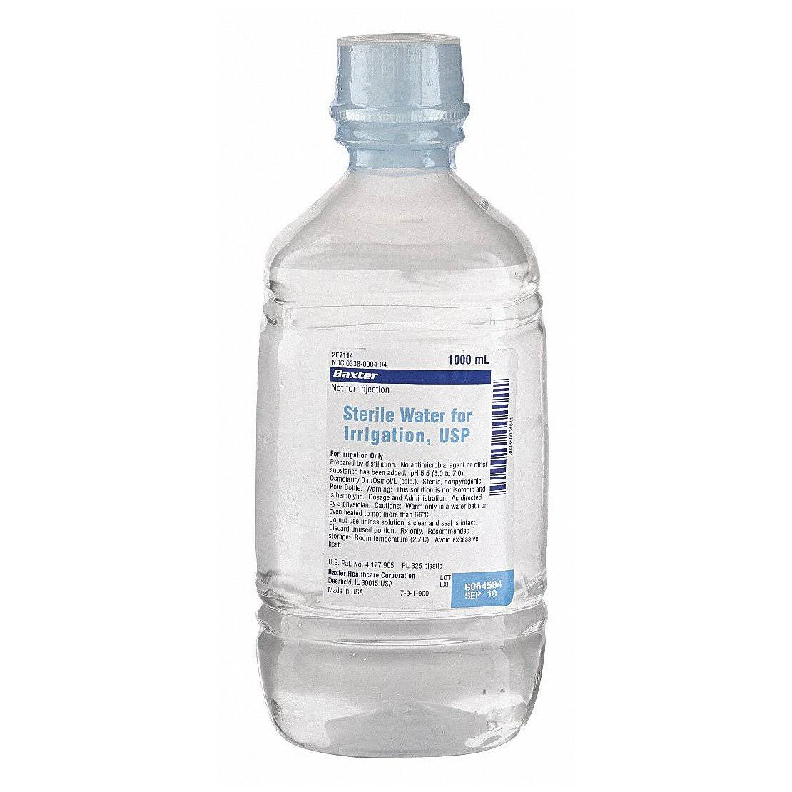 Baxter Sterile Water - 1000ml