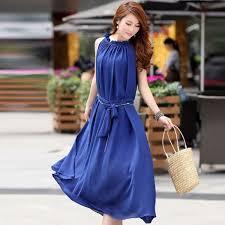 2014 Summer New Korean Bohemia Style Sleeveless Chiffon