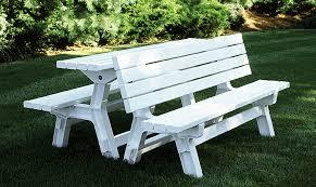 impressive park bench picnic table park bench picnic table kit