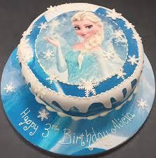 Birthday cake for frozen