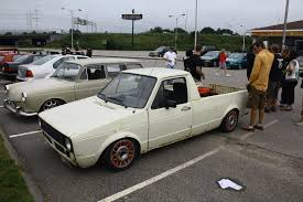 Slammed Vw Rabbit Pickup By MrHonda On DeviantArt