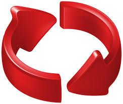 Circle Arrow Transparent PNG Clip Art Image