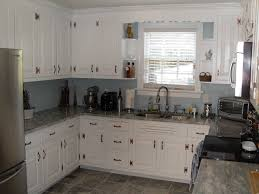 Kitchen Backsplash With Oak Cabinets by 100 White Kitchen Cabinets And White Appliances Kitchen