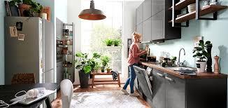 zweizeilige küche möbel höffner