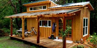 This Enchanting Tiny House On Salt Spring Island Can Be Quite The ... Rustic And Beautiful Backyard Simple Micro House Home Design Ideas Seattle Cottage How Much Does A Tiny Cost Blog Architecture Amazing Depot Kits Storage Tubular Microlodge Hobbit House Zoning Regulations What You Need To Know Curbed A 400squarefoot In Austin Packed With Big Small 68 Best Houses For Homes Diy Building Vs Buying From Builder Girl Power The Cool Fortshacktiny Of Tyler Rodgers