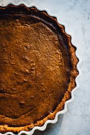 Pumpkin Pie Without Crust And Sugar by Vegan Gluten Free Pumpkin Pie