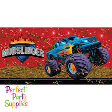 Monster Truck Tablecover | Perfect Party Supplies Monster Jam Birthday Party Supplies Impresionante 40 New 3d Beverage Napkins 20 Count Mr Vs 3rd Truck Part Ii The Fun And Cake Blaze Invitations Inspirational Homemade Luxury Birthdayexpress Dinner Plate 24 Encantador Kenny S Decorations Fully Assembled Mini Stickers Theme Ideas Trucks Car Balloons Bouquet 5pcs Kids 9 Oz Paper Cups 8 Top Popular 72076