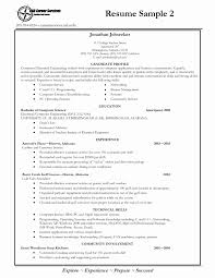Basic Sample Resume For No Experience New Customer Service Examples First Job