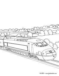Coloriage Train Wagon Imprimer Destiné Dessin D Un Train
