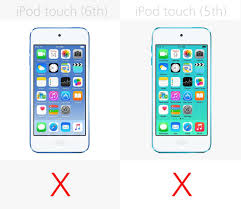Apple iPod 6th generation vs iPod 5th generation