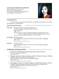 Curriculum Vitae Examples For Secretary Feat Example Fresh Graduate Resume Sample Graduates To