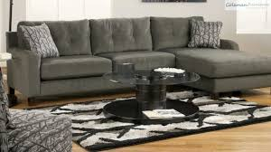 Ashley Hodan Microfiber Sofa Chaise by Siroun Steel Sectional Collection From Signature Design By Ashley