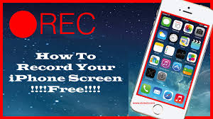 how to record your iPhone screen record my screen
