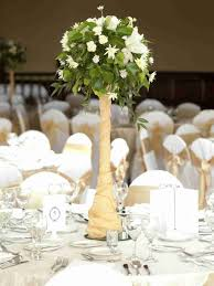 Rustic Summer Wedding Table Decorations