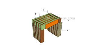 wooden side table plans myoutdoorplans free woodworking plans