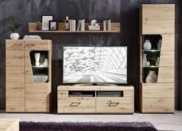 fürs wohnzimmer schicke anbauwände mit reichlich stauraum