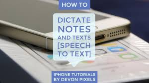How To Dictate Notes on Your iPhone