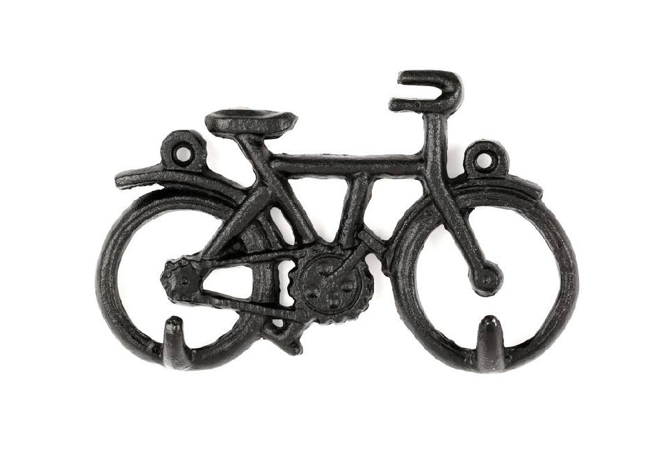 shoptherocket.com Cast Iron Bike Key Holder