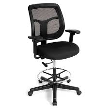 digital imagery on extended height office chair 57 extended height