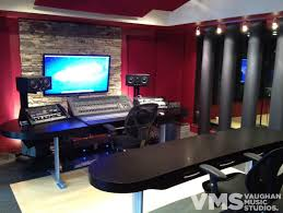 Recording Studio Control Room Vaughan Music Studios Columbus Ohio