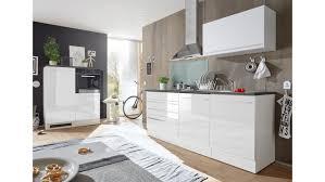 küchenblock jazz 4 küchenzeile weiß hochglanz 320 cm