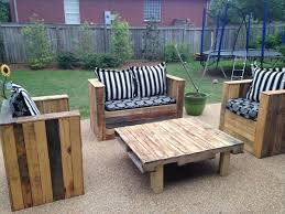 Diy Pallet Patio Furniture Cushions DIY Chairs For Outdoor