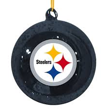 Pittsburgh Steelers Christmas Tree Ornaments