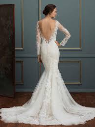 style c115 elodie long sleeve lace wedding dress blog amaré