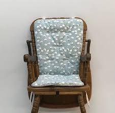 High Chair Cushion For Vintage Wooden High Chairs ...