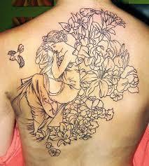 110 Dazzling Upper Back Tattoos 21