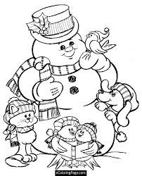 Cat And Dog Coloring Pages Free Cats Dogs Movie Christmas