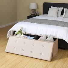 flur truhe mit deckel platzsparend gepolstert schlafzimmer