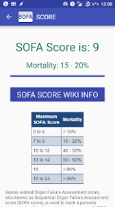 sepsis score sofa calculator android apps on google play