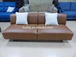 Decoro Leather Sofa With Hardwood Frame by Italian Leather Sofa With Wood Trim Italian Leather Sofa With