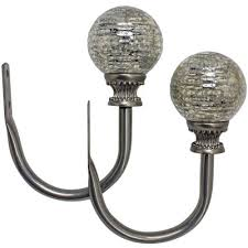 Bali Curtain Rods Jcpenney by Bali Mercury Glass Adjustable Curtain Rod Jcpenney